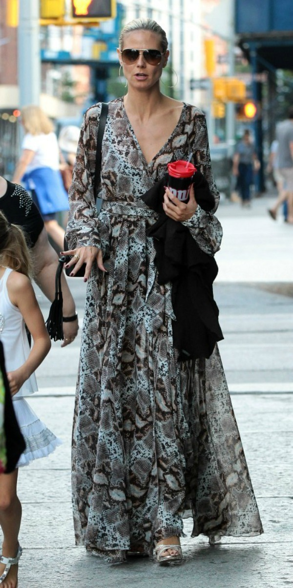 Heidi Klum 8 Street Style: Heidi Klum