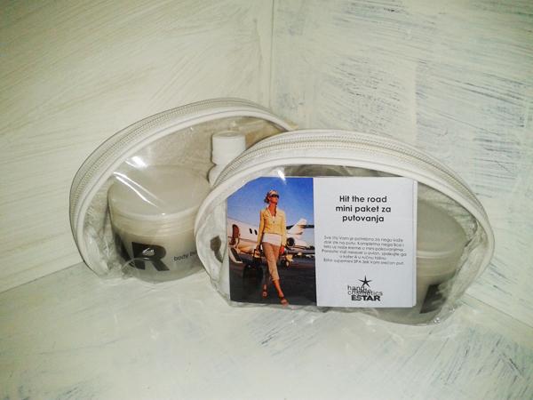 Hit the road mini tretman Beauty proizvodi dana: Hit the road mini paket za putovanja