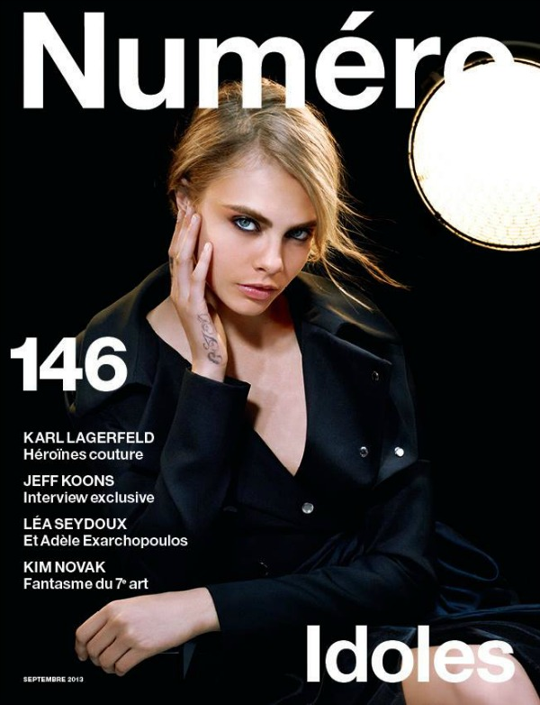 "Kara je trenutno jedna od najtraženijih manekenki Modni zalogaj: Cara Delevingne za francuski ""Numero"""