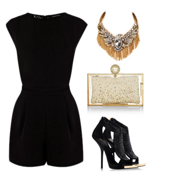 Look81 Look of the Day: Elegantna crna