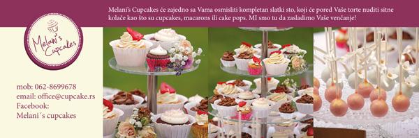 Melanis Cupcakes Wannabe Bride Vikend u Ušću: Izlagači