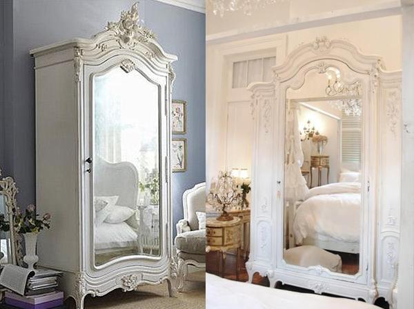Ogledalo na garderoberu Svakodnevne sitnice: Ogledala