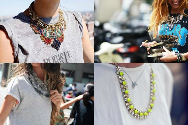 Ogrlica Osam jednostavnih načina da unesete boje u svoj garderober (1. deo)