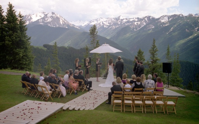 "Romanticno vencanje na planini Wannabe Bride: Recite ""da"" negde daleko"