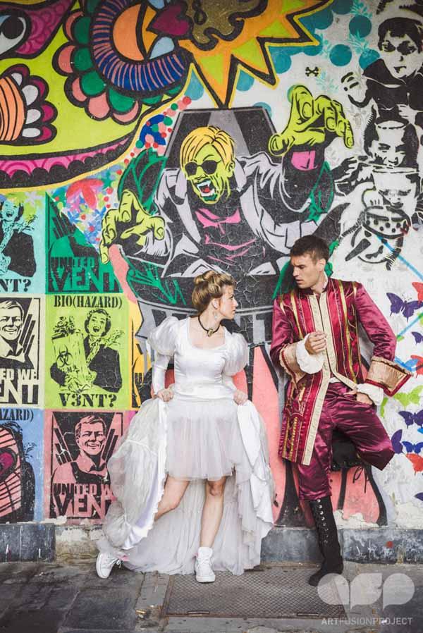 Sanja BesticVladan Miljkovic Poznate ličnosti Srbije u projektu Art Fusion   London