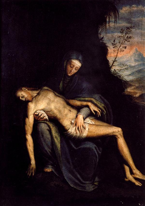 Sofonisba Anguisola Pieta Iznad Sofonisbe je samo Bog