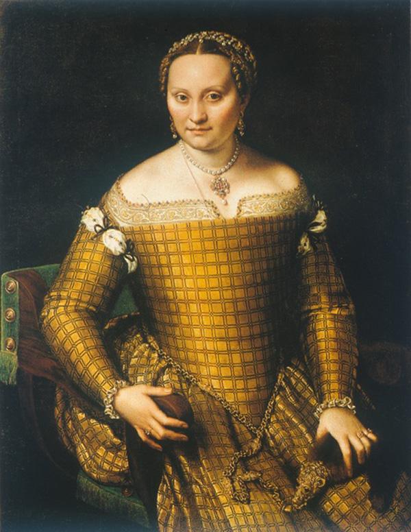 Sofonisba Anguisola naslikala je njenu majku ulje Bjanka Ponzone Sofonisba je otvorila krletku