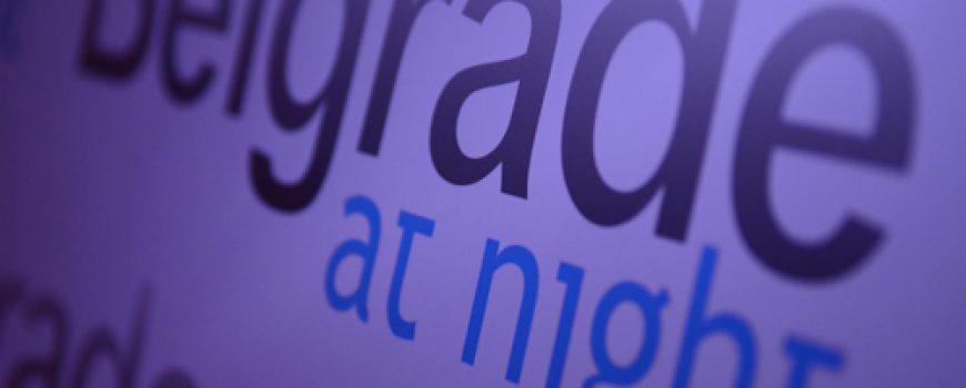 "Osmi rođendan klubskog servisa ""Belgrade at night"""