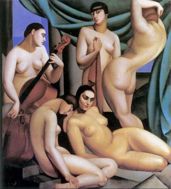 Tamara de Lempicka Ritam 1924 Sofonisba je otvorila krletku