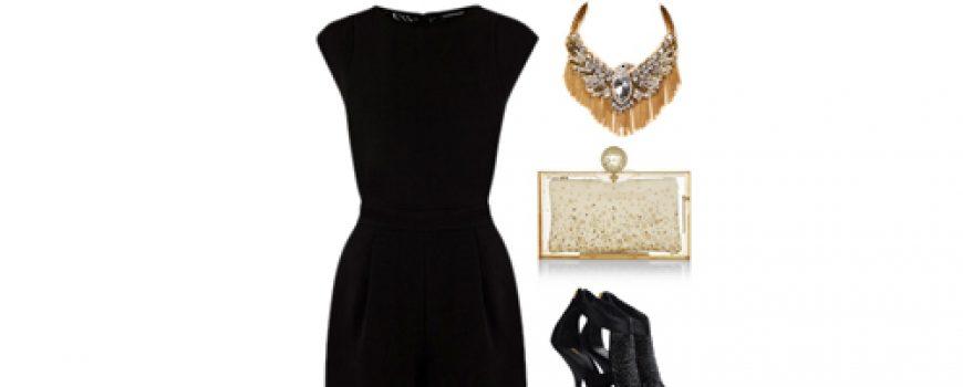 Look of the Day: Elegantna crna