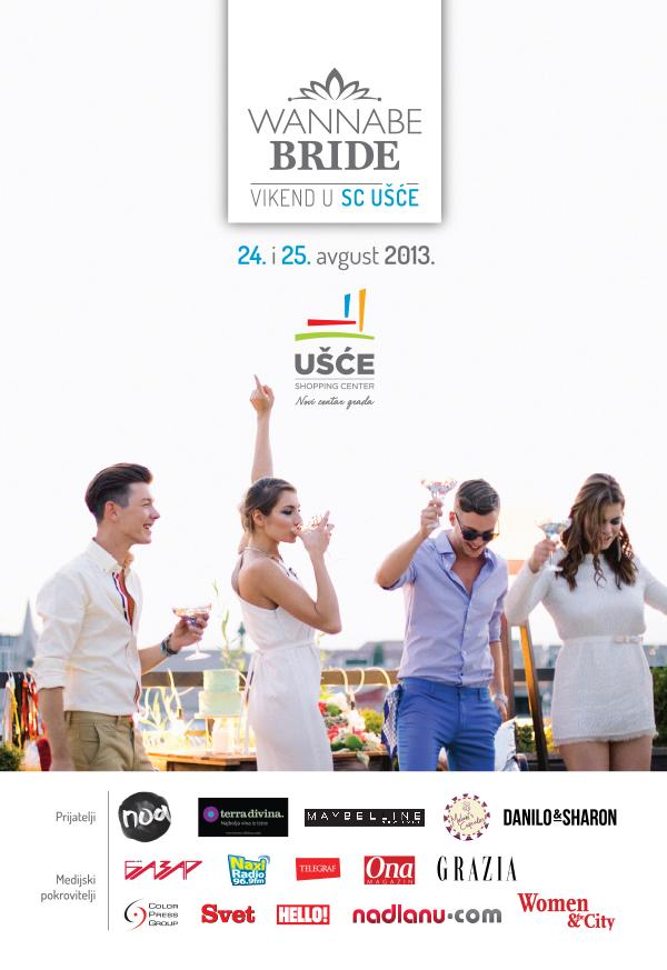 Wannabe Usce naslovna FINAL Wannabe Bride Vikend u Ušću: Za vaš najlepši dan sa stilom