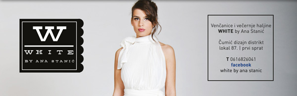 White Wannabe Bride Vikend u Ušću: Izlagači