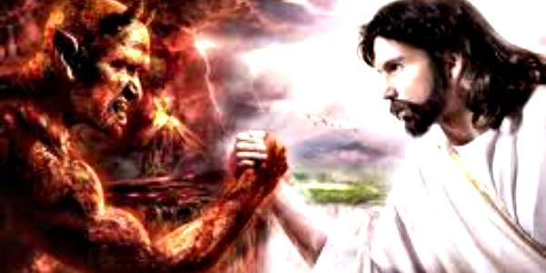 djavo i isus obaraju ruke Striptiz za pismene: Isterivanje Đavola