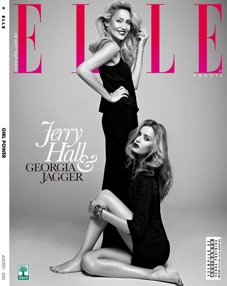 georgia jerry cover Elle Brazil: Modni DNK