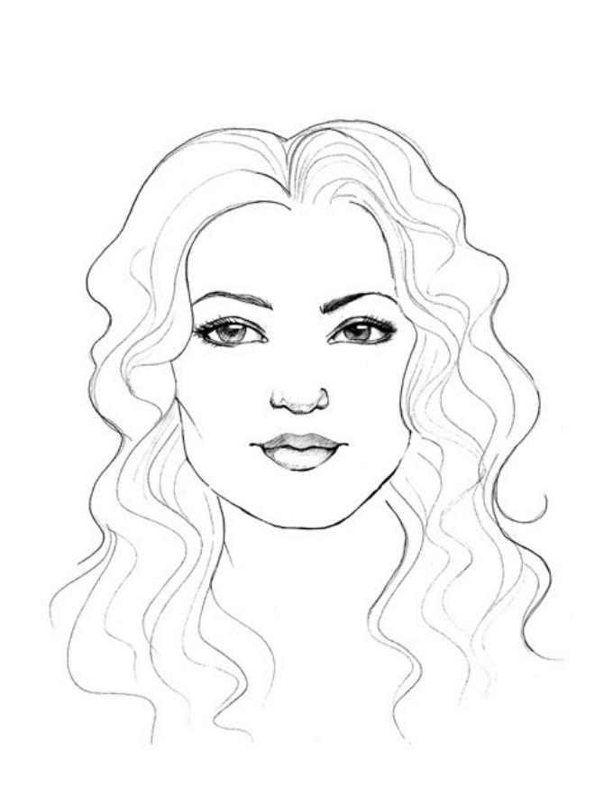 lice četvrtasto Wannabe Bride: Idealna frizura, četvrtasto lice