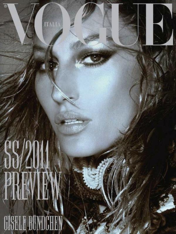 moda na naslovnici Gisele Bundshen i glamur Moda na naslovnici: Gisele Bündchen i crno beli glamur