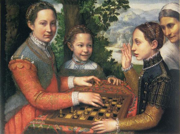 partija šaha 1555 Iznad Sofonisbe je samo Bog