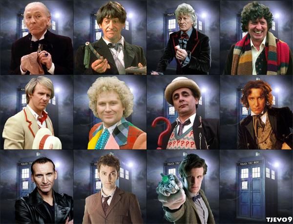 """slika 2 inkarnacije Doktora Serija četvrtkom: """"Doctor Who"""""""