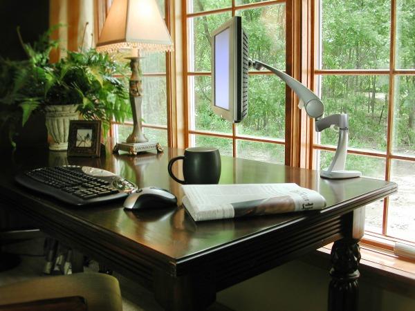 slika kancelarija Kako da za 60 sekundi napravite sjajnu kućnu kancelariju?
