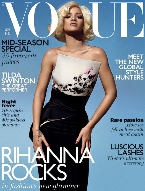 slika1.jpg Moda na naslovnici: Rihanna i Vogue magazin