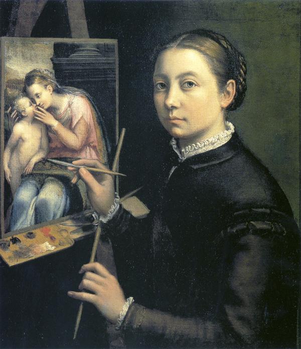 sofonisba autoportret 1556 Sofonisba je otvorila krletku