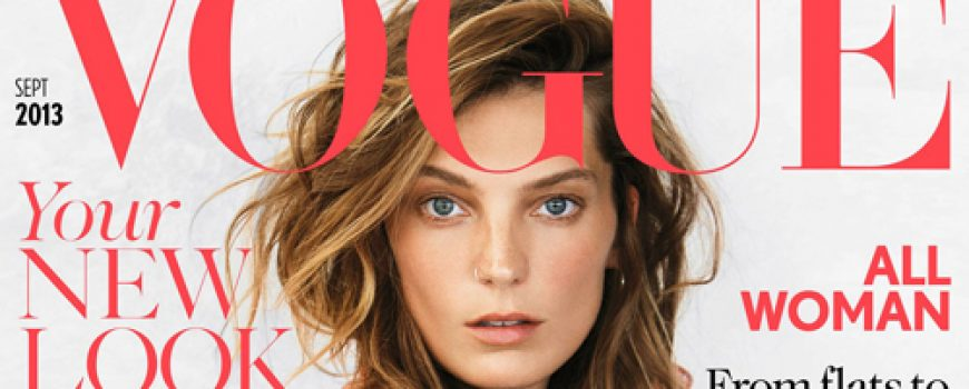 "Modni zalogaj: Daria Werbowy i septembarski ""Vogue"""