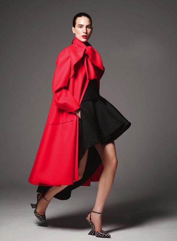01 Milu Mihaljcic modni kriticari svrstavaju u svetski vrh manekenstva Njujorška moda u znaku Srbije