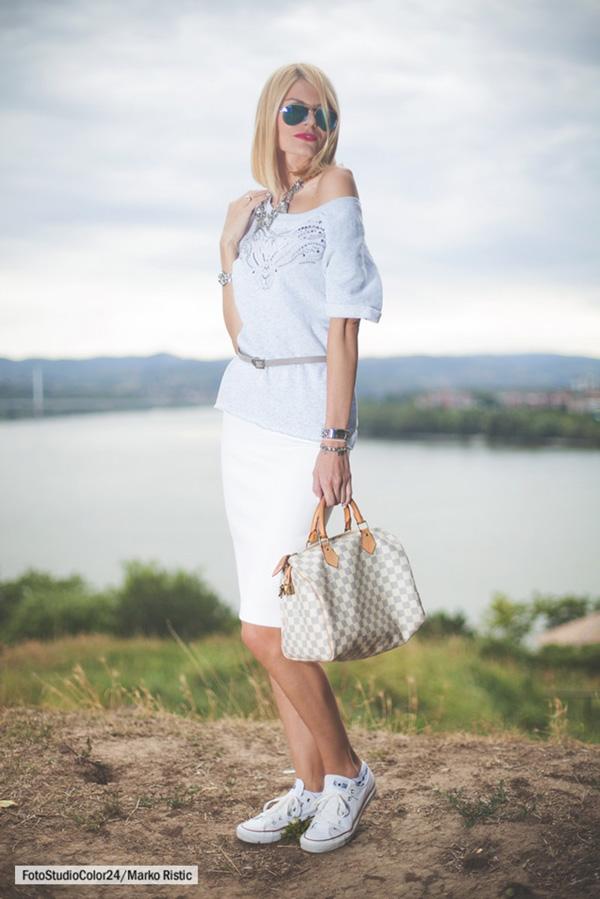 2 2 Modni predlog Jovane Jokić: Siva i bela