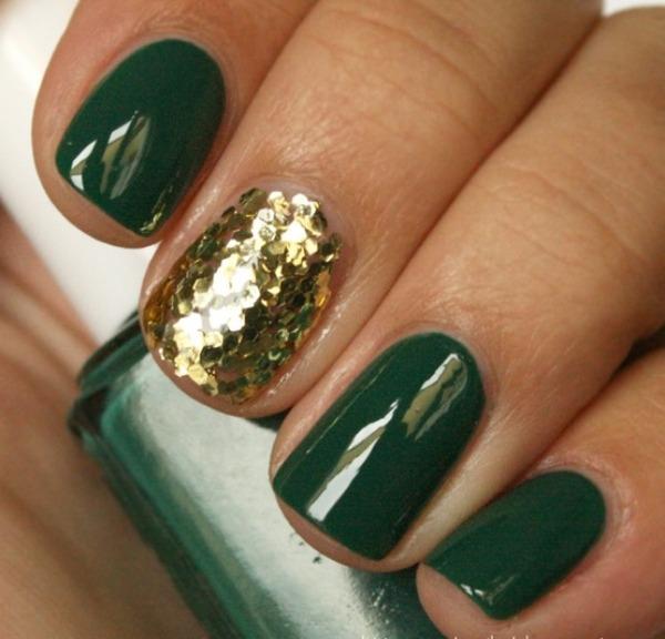2 Smaragdnozelena Lakovi za nokte: Trendi boje za jesenju sezonu