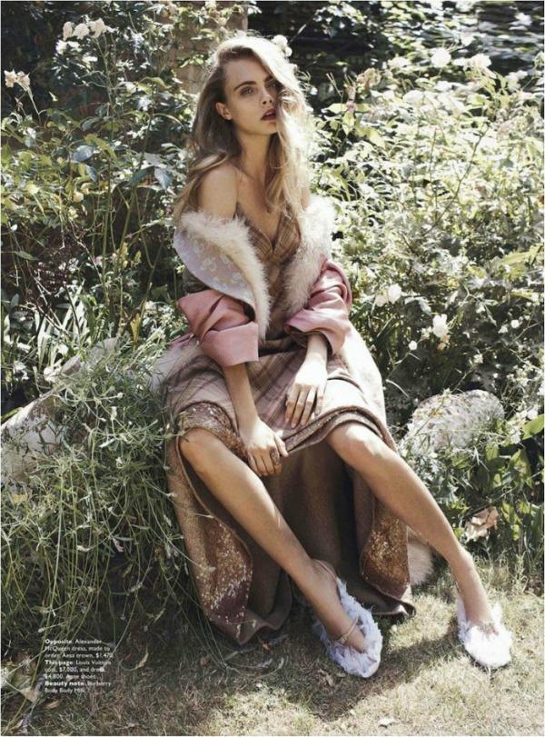 314 Australian Vogue: Cara Delevingne u ulozi kraljice