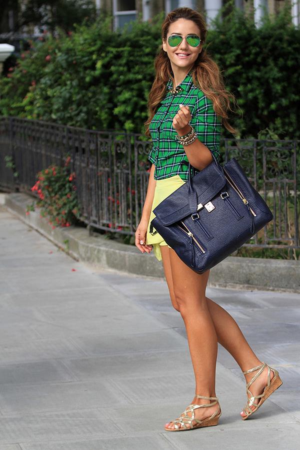 9654681297 c60ac0e65f c Šta modne blogerke nose ovih dana: Teksas, karirano i kraljevskoplava