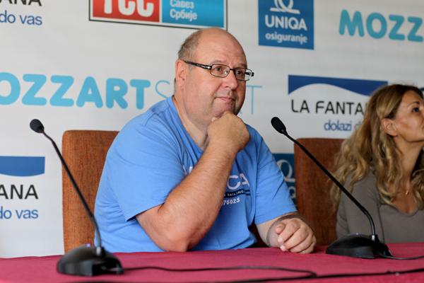 Aleksandar Bolić direktor Teniskog Saveza Srbije Otvoren ženski Mozzart Fjučers 2013.