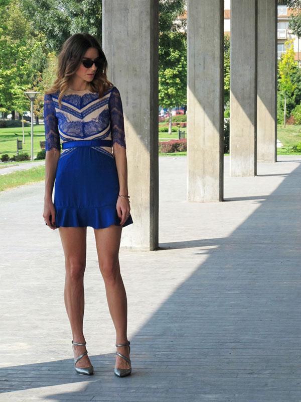 Bonjourjr 7 Šta modne blogerke nose ovih dana: Teksas, karirano i kraljevskoplava