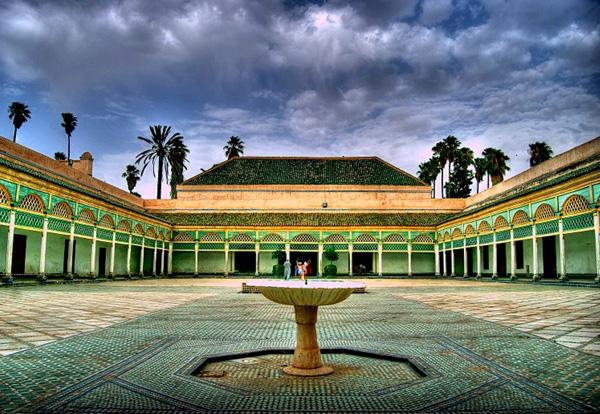 Dvoriste luksuznog zdanja Marakeš: Grad istočnjačke lepote