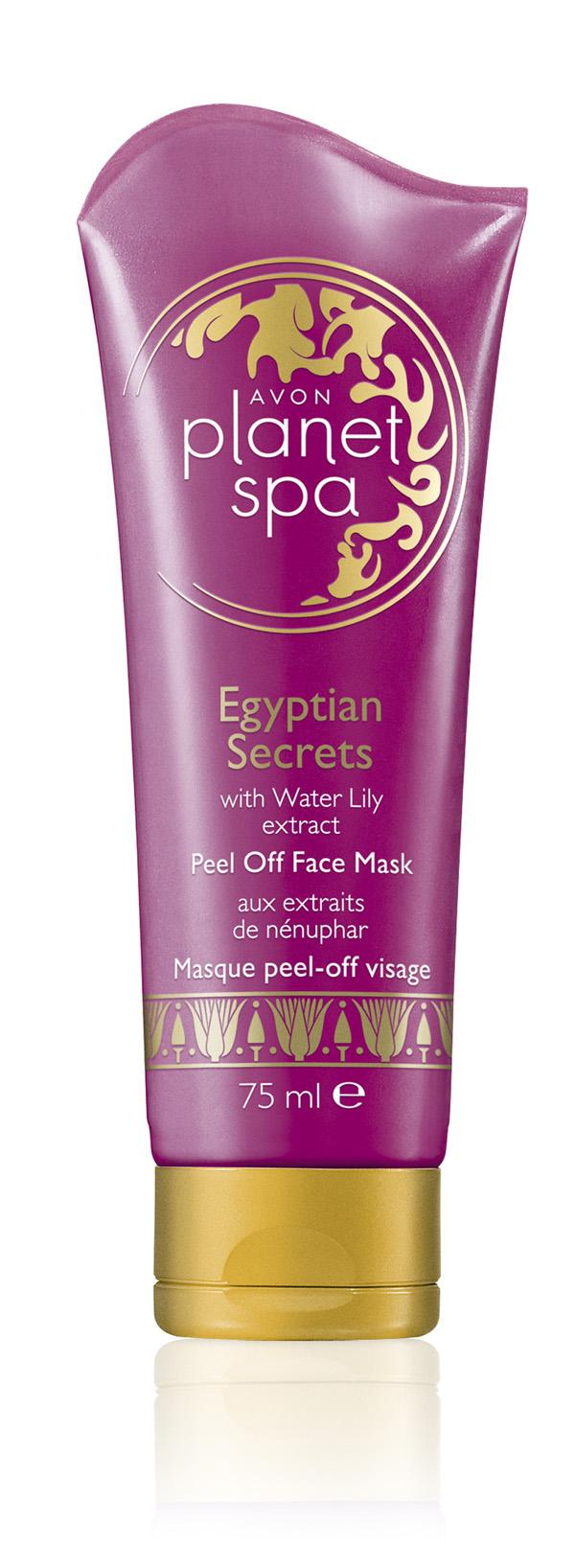 Egyptian Secrets mask Avon: Proizvodi za jesen