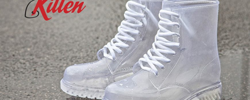 Office Shoes predlaže: Kitten prozirna gumena cipela
