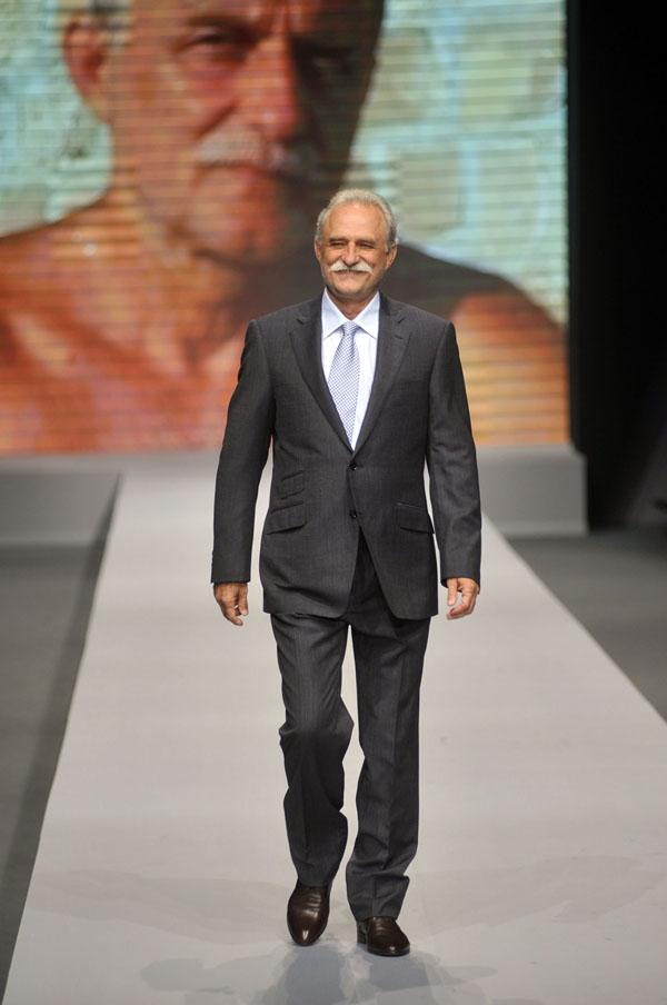 Lazar Ristovski 2 Pal Zileri jesen/zima 2013/2014: Stilski rituali visokog društva tridesetih
