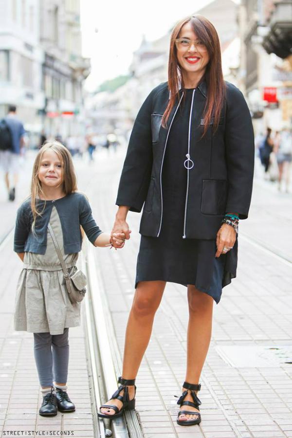 Mama i cerka Street Style Zagreb: Zbogom, leto! (1. deo)