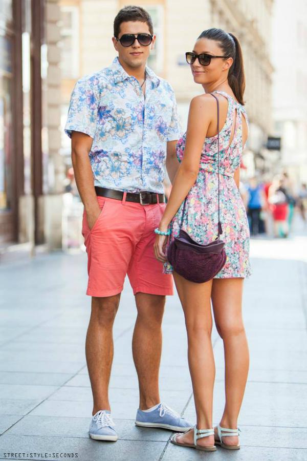 Modno uskladjen par Street Style Zagreb: Zbogom, leto! (1. deo)