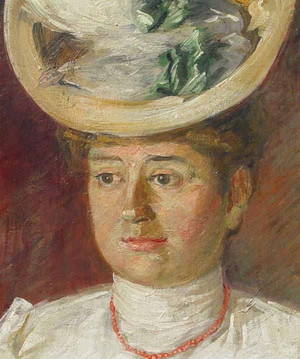 Natalija Cvetkovic Portret sestre Dare 1907 ulje Ljudi koji su pomerali granice: Natalija Cvetković