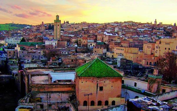 Panorama grada Marakeš: Grad istočnjačke lepote