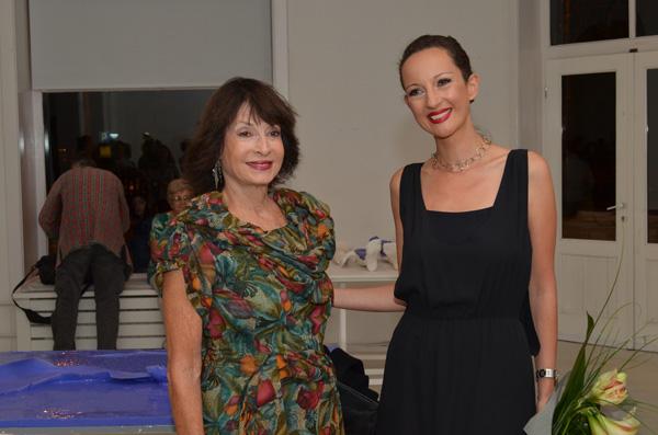 Princeza Jelisaveta Karadjordjevic sa umetnicom Martom Jovanovic Otvorena izložba Ovo je moje telo