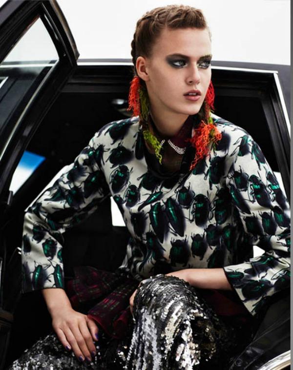 Slika 18 Glamour Paris: Sve boje naslovnice