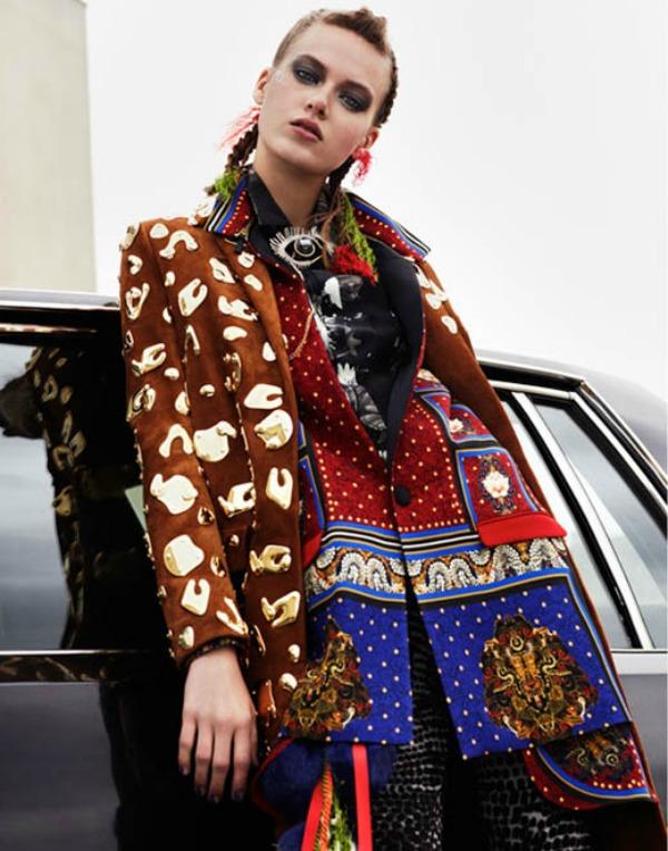 Slika 43 Glamour Paris: Sve boje naslovnice