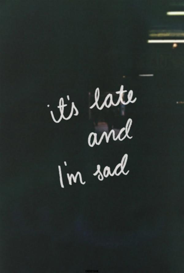 Slika s natpisom Odlazim, a volim vas