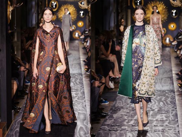Slika3 Haljine mantili sa vezom Jesen na modnim pistama: Valentino