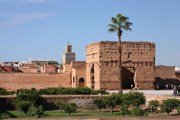 Spoljni zidovi palate Marakeš: Grad istočnjačke lepote