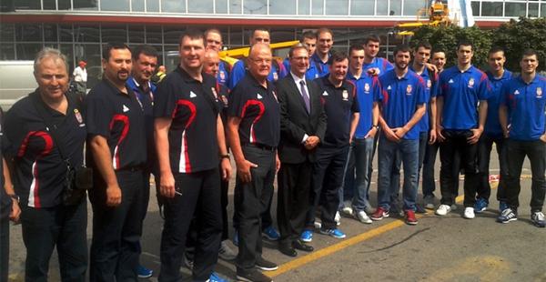 Srbija EP Slovenija 2013 Počinje 38. EuroBasket: Orlovi, srećno!