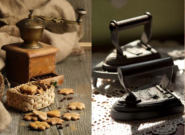 Stari mlin i stara pegla Etno trpezarije: Lepota rustičnog
