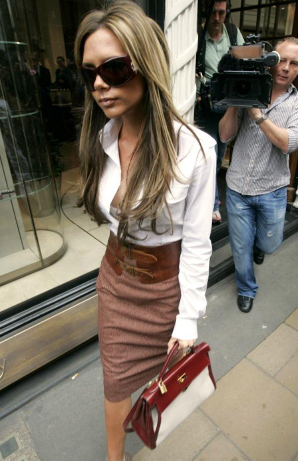 Victoria sa braon Hermes torbom 6 Sve torbe: Victoria Beckham